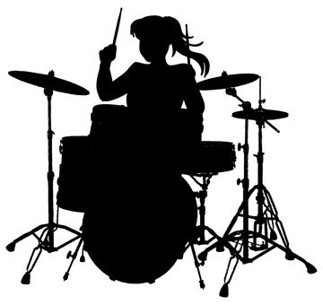 걸스 반드 드럼