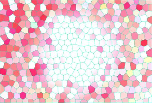 스테인드 무늬 ~ 핑크 계열