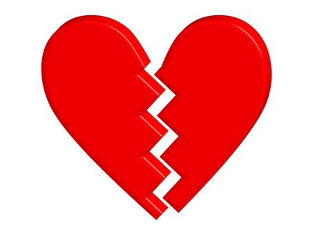 Heart broken heart