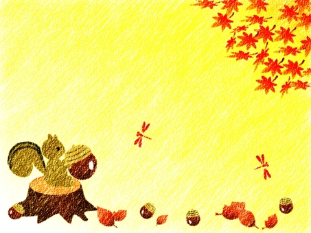 Under the autumn leaves