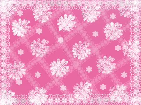 Lace flower pink