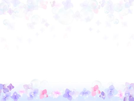 Hydrangea's background 9