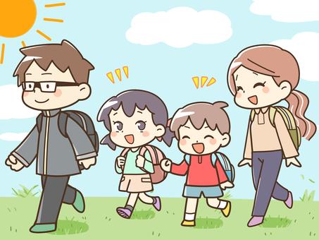 소풍 가족
