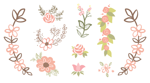 Ornaments for flowers