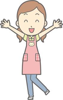 Nursery female - Banzai - whole body