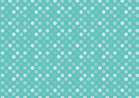 Seamless dots background chocolate mint