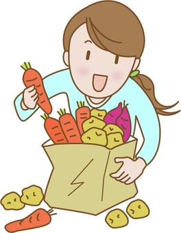 所有你想要的蔬菜