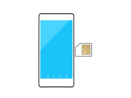 Smartphone sim card