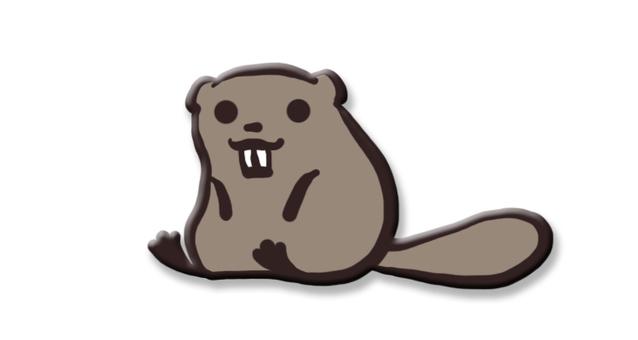 Sitting Beaver