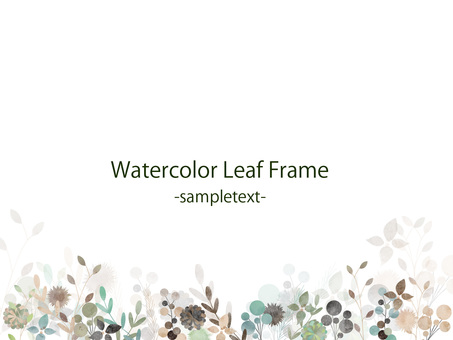 Fall color frame ver39