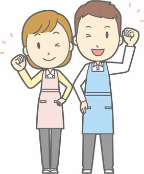 Apron Gender - Guts Wink - Full Length