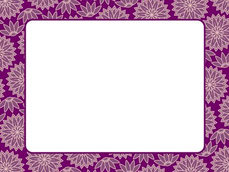 植物圖案框架16