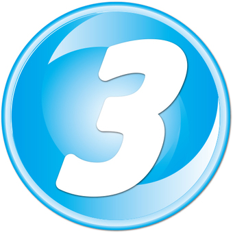 "Number button ""3"""