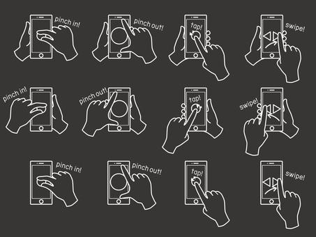 Hand sign 4