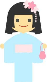 girl-kimono (girl)-