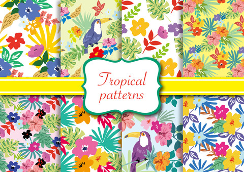 Tropical pattern set