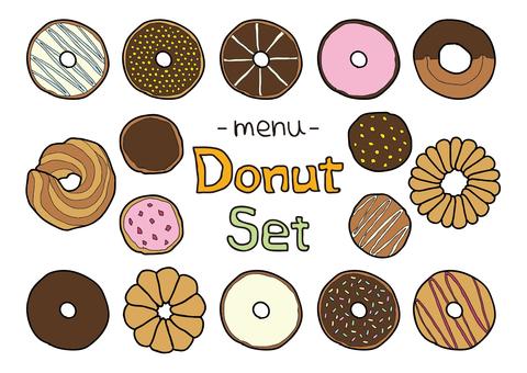 Donut color set