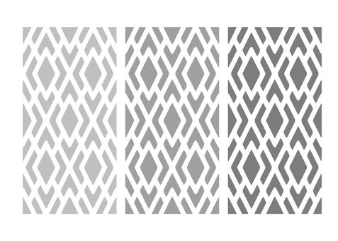 Cobbled straw pattern set