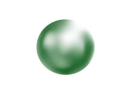 Sphere / green