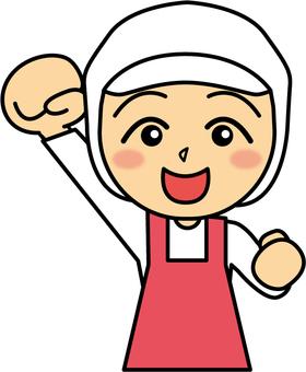 Cooking _ Women _ Guts pose
