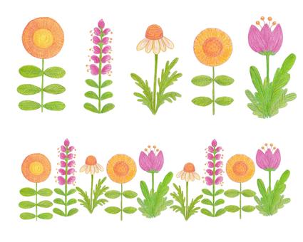Scandinavian style * flowers