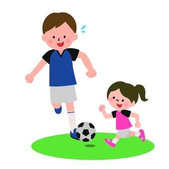 Enjoy soccer