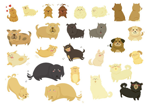 Doggy illustrations