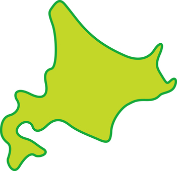 Simple prefecture Hokkaido
