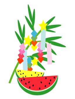 Watermelons and Tanabata
