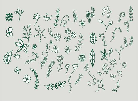 Flower material