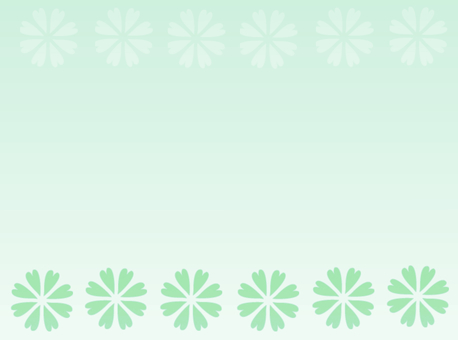 Background material · Flower (green)