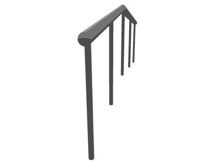 Handrail (slightly facing front)