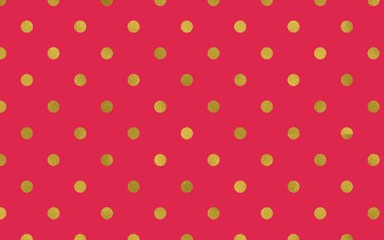 Dot Pattern Rose Pink Gold