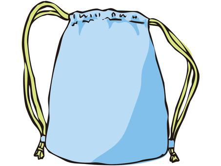 背包(藍色)
