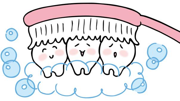 Toothpaste illustration color version