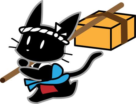 Hikyaku Black Cat