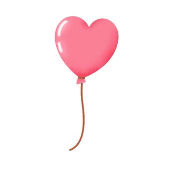 Valentine's Heart type balloon ②