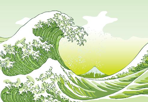 Kanagawa Okiwa Green version