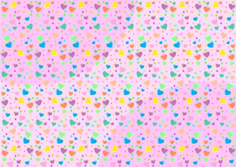 Heart full background
