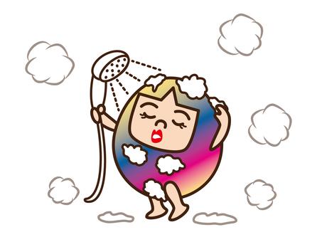 Mom / shower