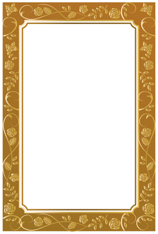 Decorative frame material