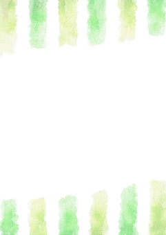 Vertical stripes of watercolors · Vertical of central white · yellow green