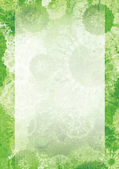 Japanese pattern dahlia (green)