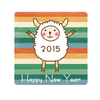 Sheep _ New Year's cards