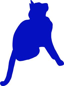Cat Cat silhouette 8
