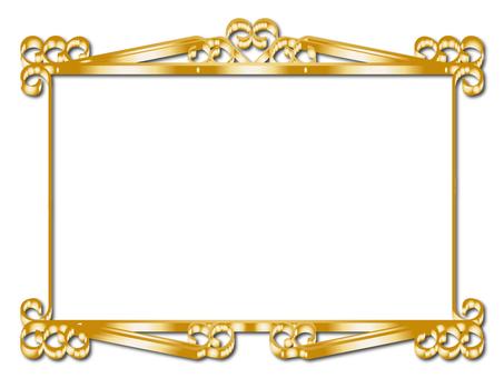 蔓藤花紋框架6