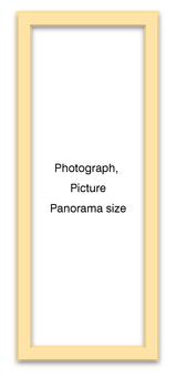 Panorama Frame Natural Vertical
