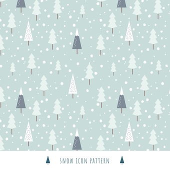 Winter background pattern 3 Scandinavian style