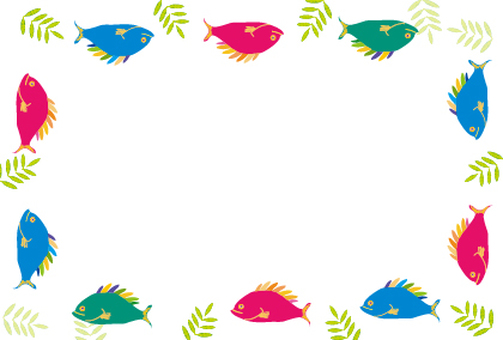 Tropical Fish Tropical French Sea Frame