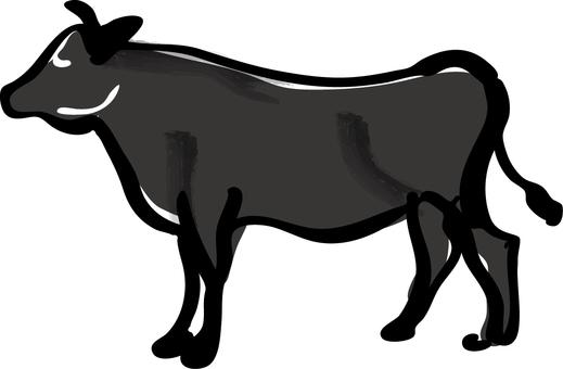 食物_黑色和牛牛肉